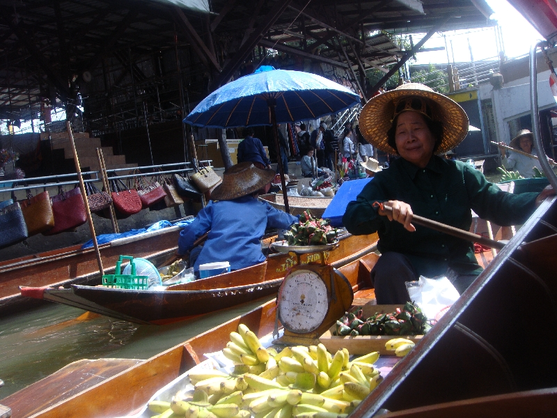 The Floating Market at Damnoen Saduak Thailand Album