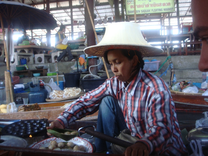 The Floating Market at Damnoen Saduak Thailand Diary Experience