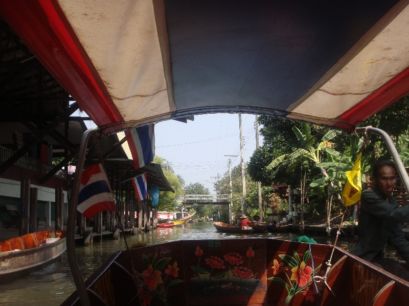 The Floating Market at Damnoen Saduak Thailand Review Sharing