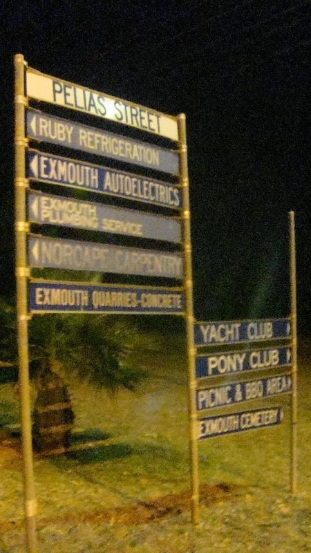 Exmouth centre, Exmouth Australia