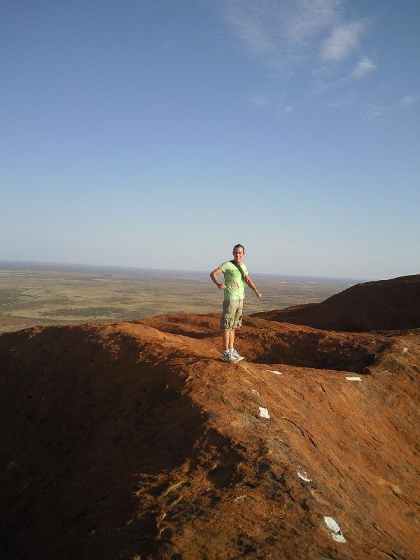 A long way to go.., Ayers Rock Australia