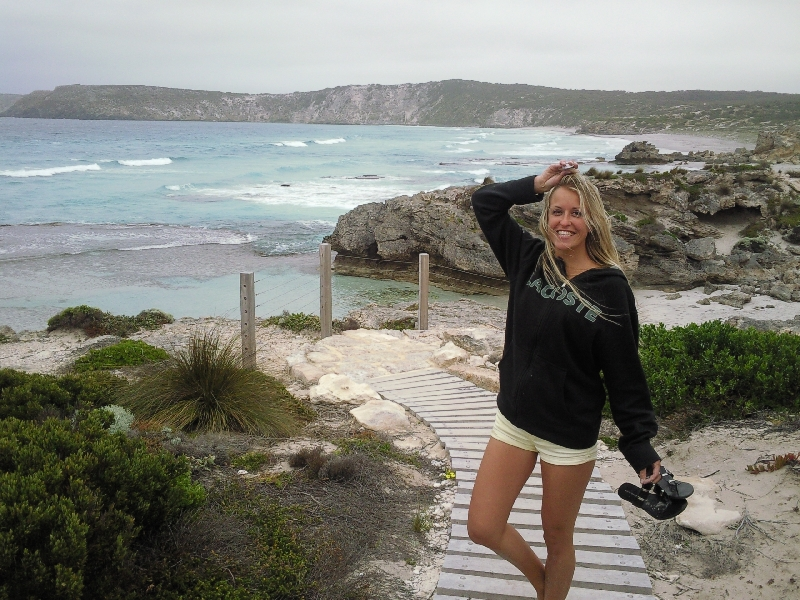 Windy @ Pennington Bay, Kangaroo Island Australia
