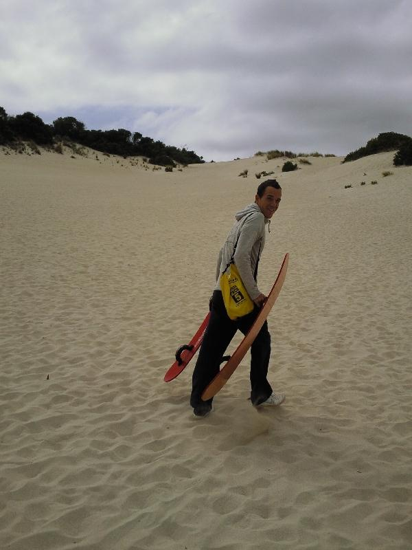 Up the dunes, Kangaroo Island Australia