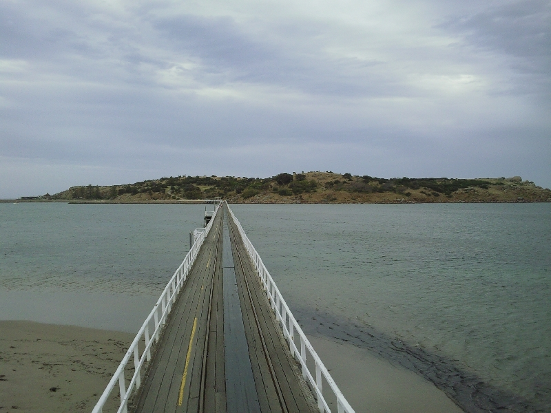 Bridge Victor Harbor, Granite Island Australia