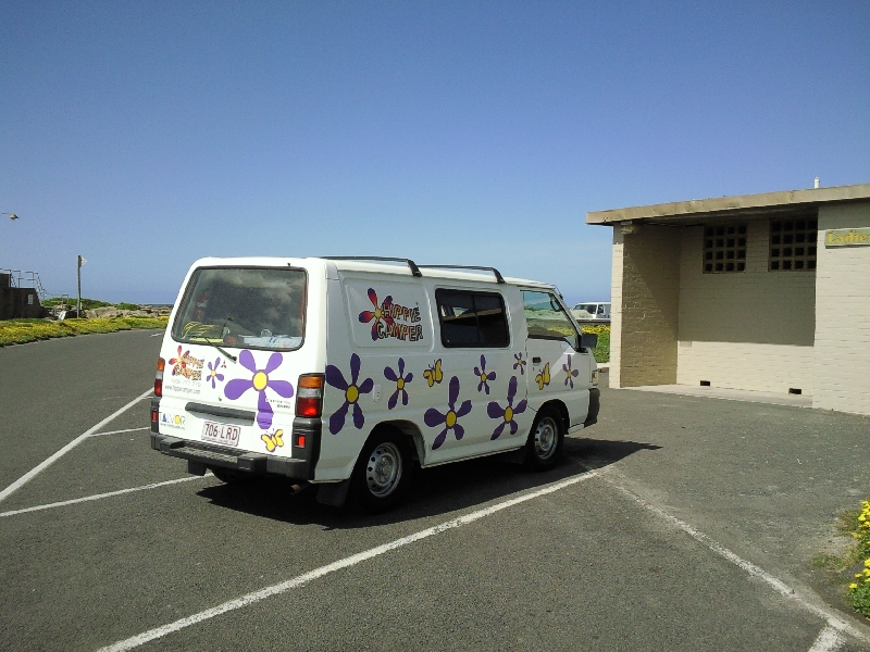 Happy camper, Warrnambool Australia