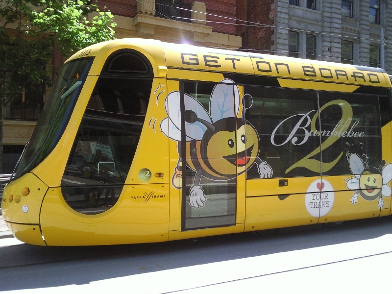 Bee tram, Australia