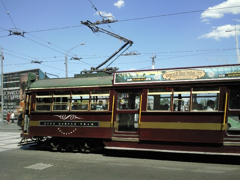 City Circle Tram, Melbourne Australia