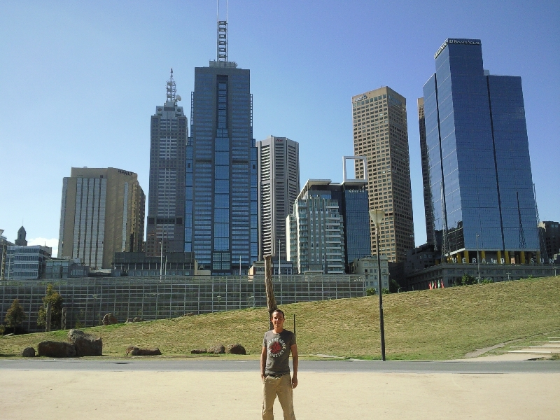 Melbourne skyline, Australia