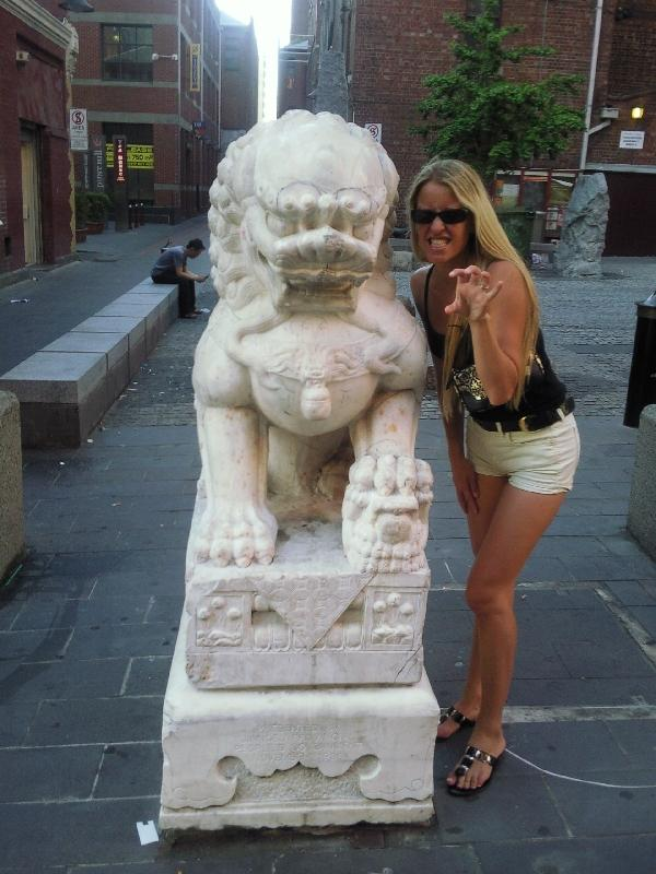 Angry lions.., Melbourne Australia