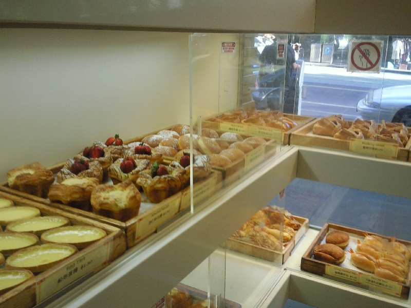 Bakery in Chinatown, Melbourne Australia