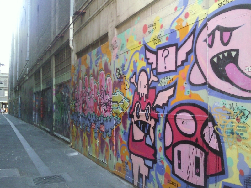 Melbourne grafitti, Australia