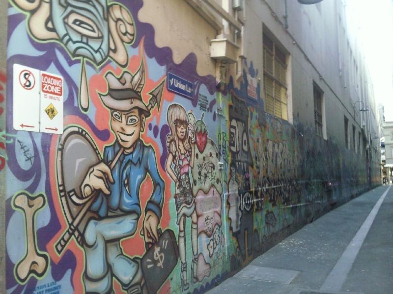 Melbourne street art, Melbourne Australia