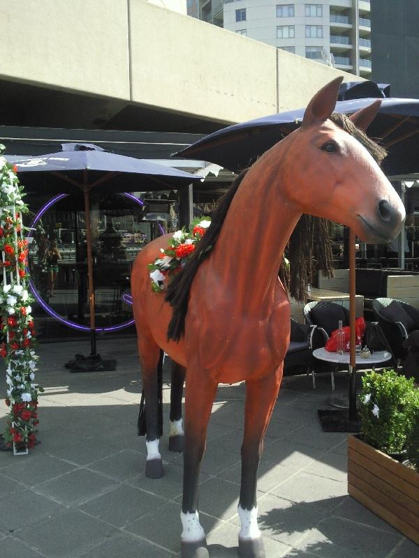 Melbourne's cup horsie, Australia