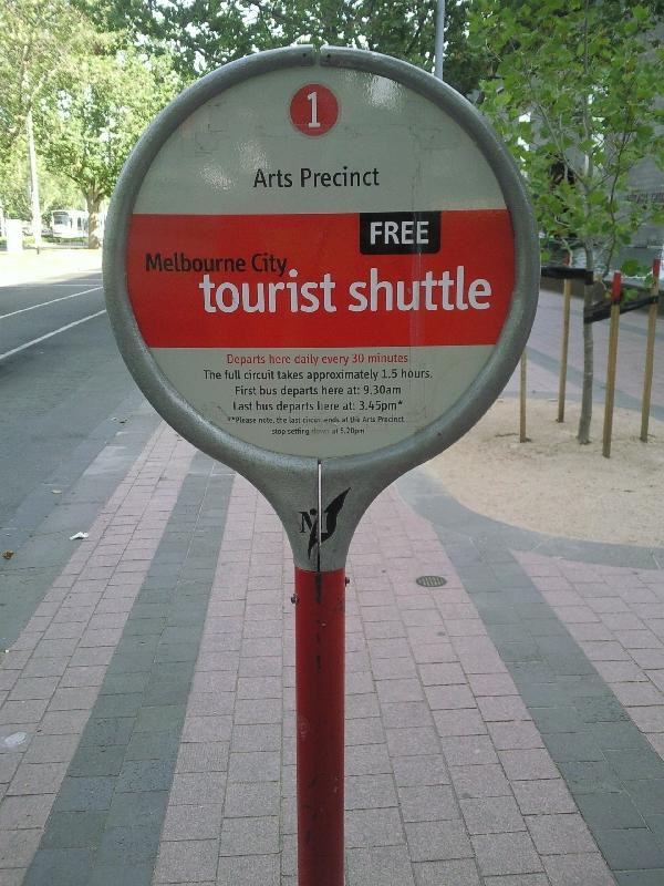 Melbourne's free Shuttle bus, Australia