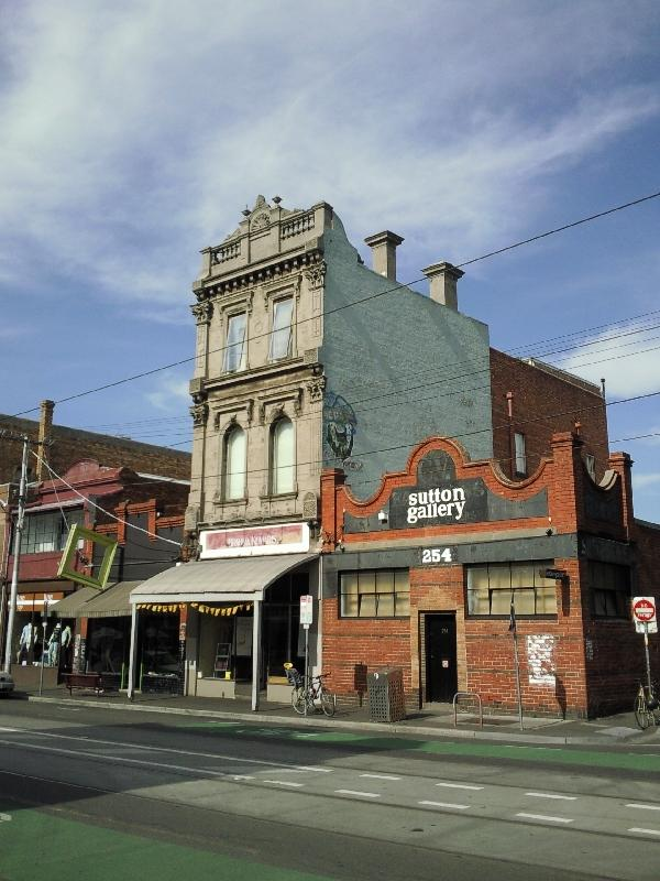 Buildings in Fitzroy, Melbourne, Australia