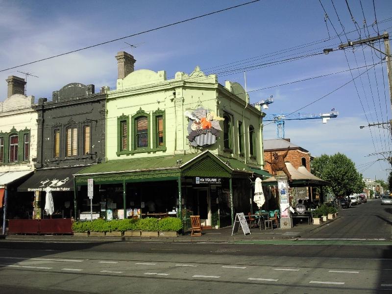 Corner shop Fitzroy, Melbourne, Australia