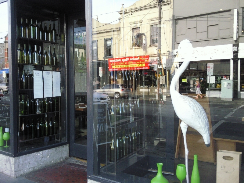 Wine shop in Fitzroy, Melbourne, Australia