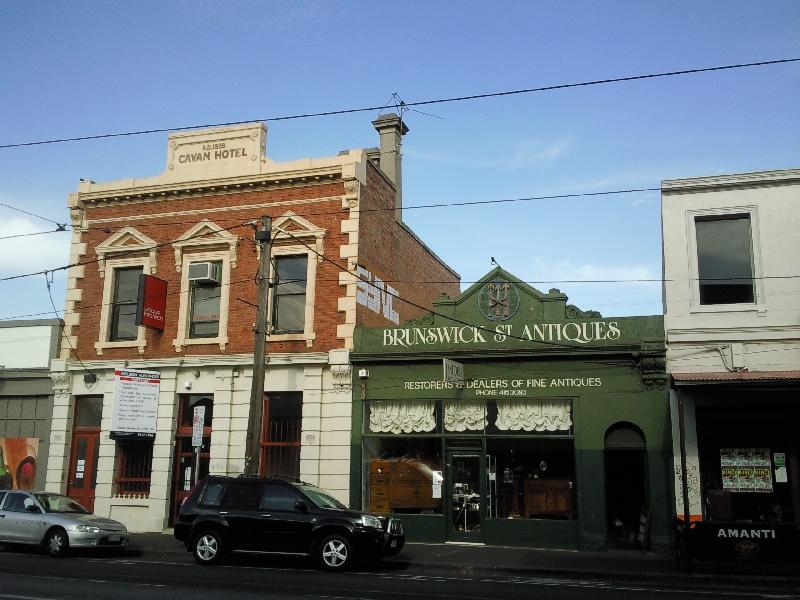 Street panorama @ Fitzroy, Australia
