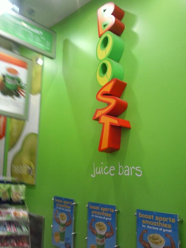 Boast juices, Melbourne Australia