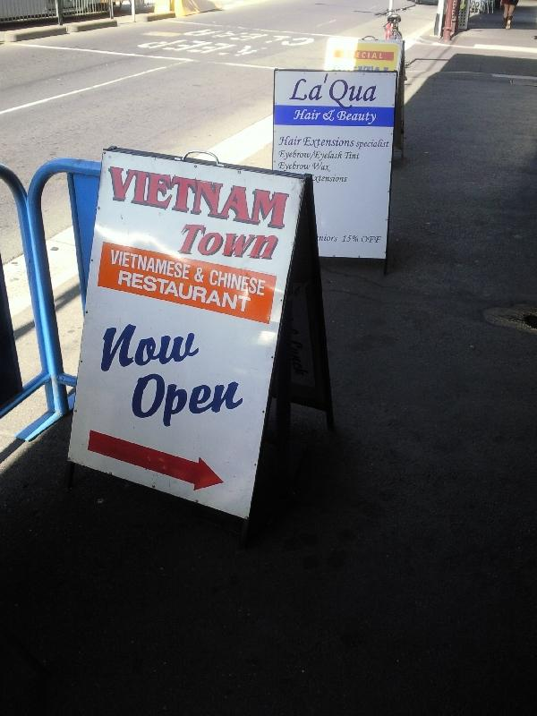 Richmond Vietnam town, Melbourne, Australia