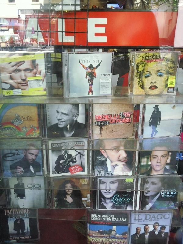 Italian music cd's in Carlton, Australia