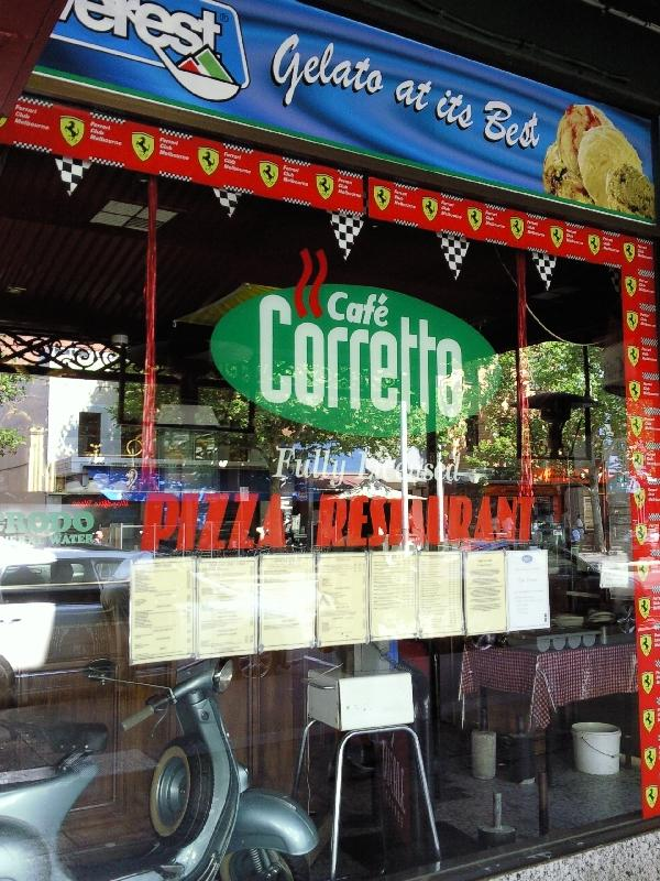 Little Italy shop in Carlton, Melbourne Australia