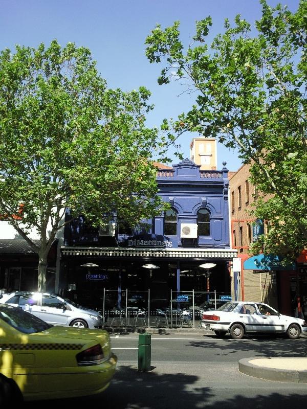 Italian quarter in Melbourne, Australia
