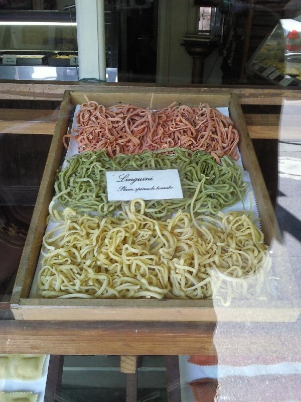 Home made pasta in Carlton, Australia