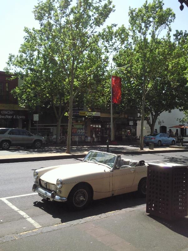 Cars in Carlton, Melbourne, Australia
