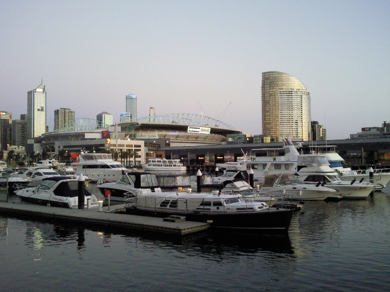 The Docklands panorama, Melbourne Australia