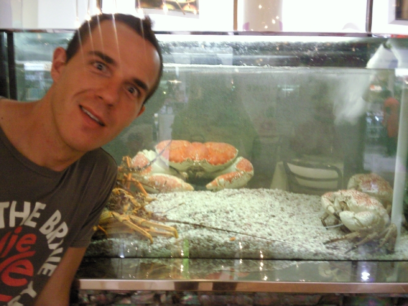 Giant Crab at the Casino, Australia