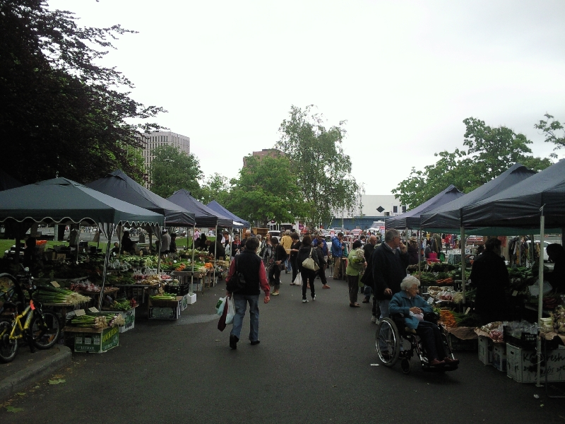 Hobart Australia The saturday Salamanca markets