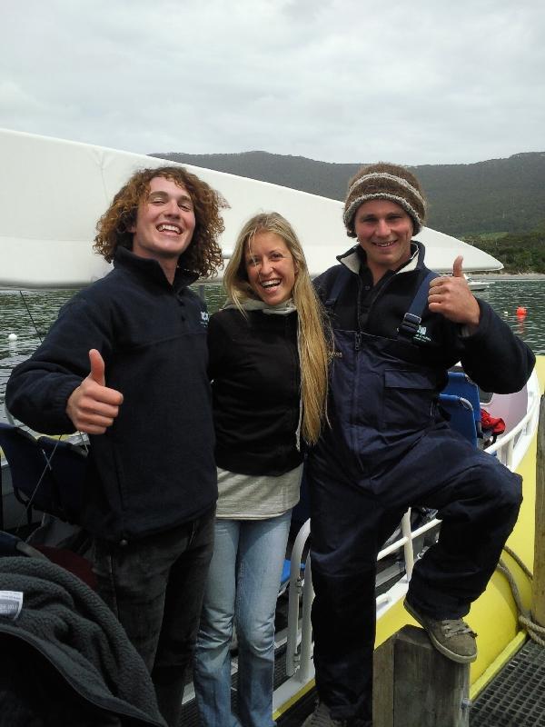Crew Tasman Island Cruise, Port Arthur Australia