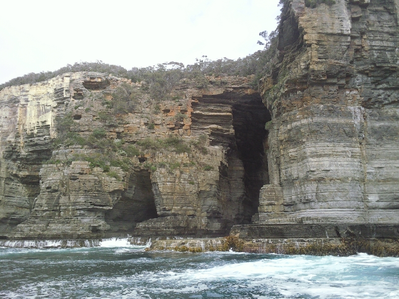 Mighty rock formations @ Tasman Island, Australia