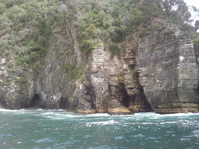 Aboard the Tasman Cruise Charter, Australia
