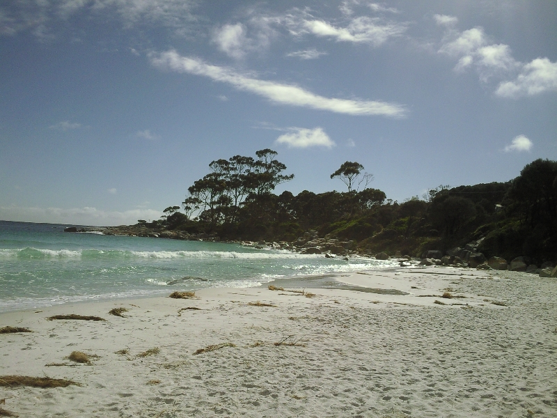 Beautiful beaches Bay of Fires, Australia