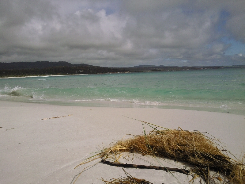 Binnalong Beach deserted paradise, Bay of Fires Australia