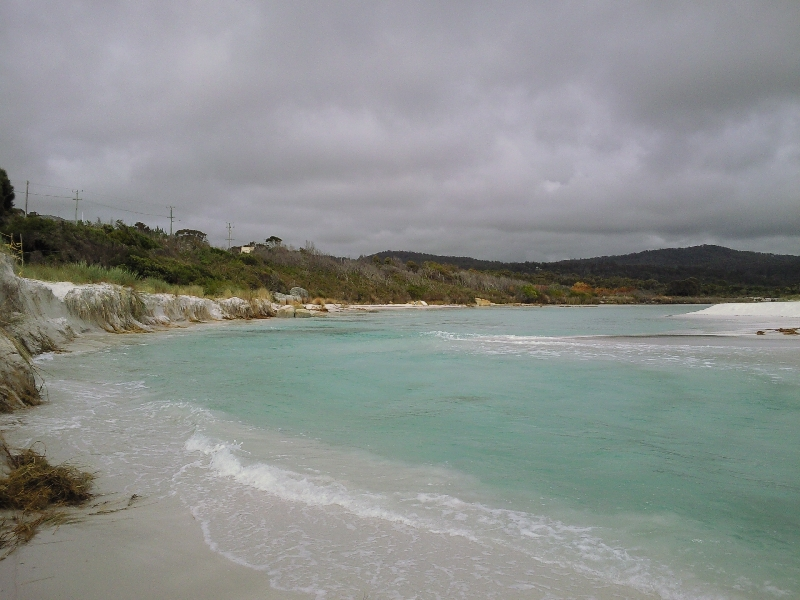 Lookout over Binnalong Beach, Bay of Fires Australia