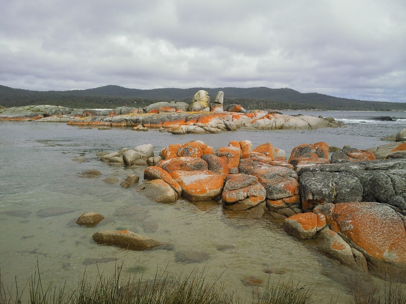 Beautiful bay, Bay of Fires, Australia