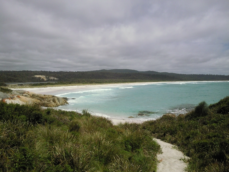 Beaches of Bays of Fires, Tasmania, Australia