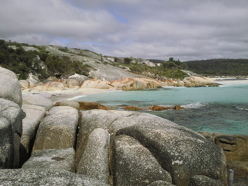 Sloop Reef at Bay of Fires, Australia