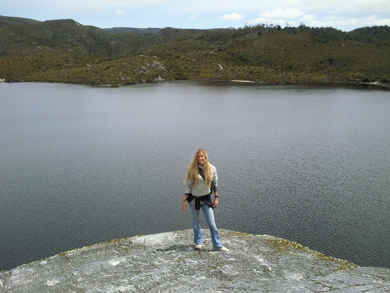 At Dove Lake, Cradle Mountain NP, Launceston Australia