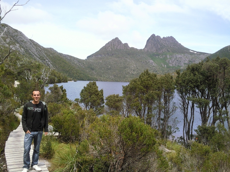 Dove Lake Circuit at Cradle, Launceston Australia