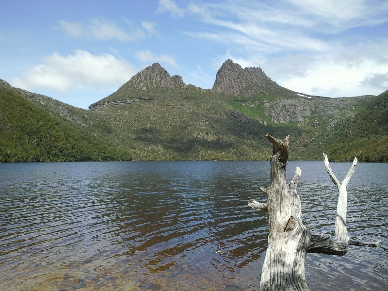 Lookout over Dove Lake, Australia