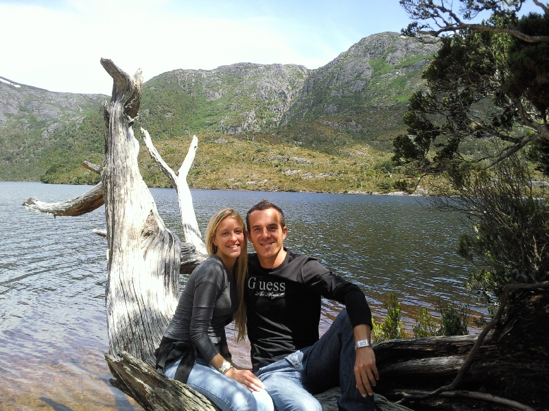 At Dove Lake, Cradle Mountain NP, Australia