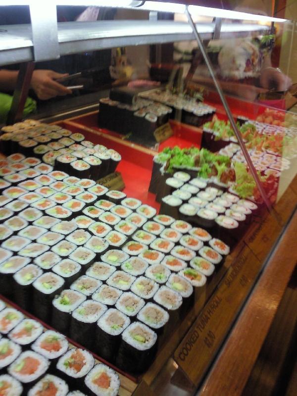 Sushi @ Canberra Centre, Canberra Australia