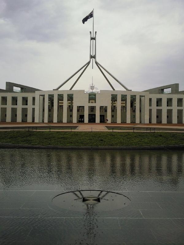 Roof Terrace Parliament House, Canberra Australia