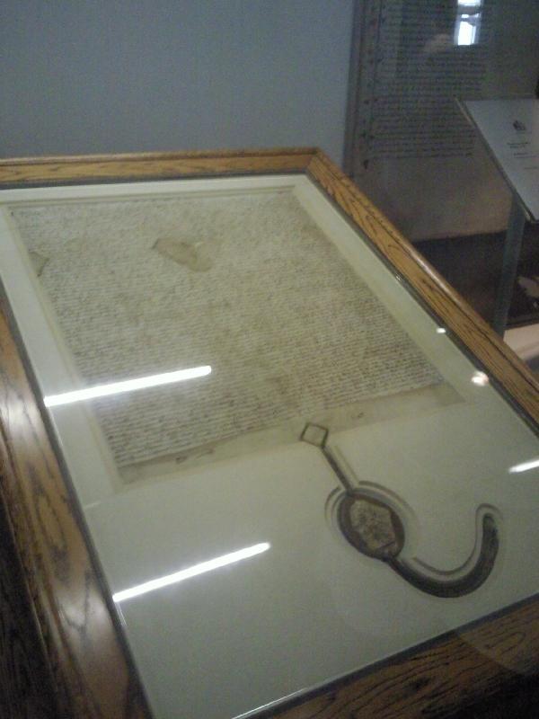 Magna Carta of Canberra, Australia