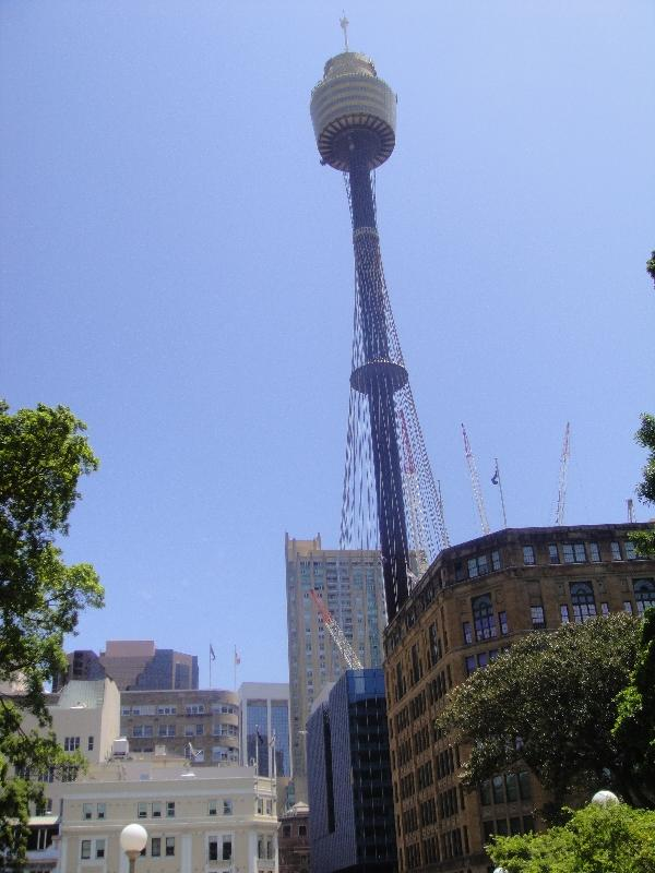 Sydney Tower on Market St Sydney Australia Oceania