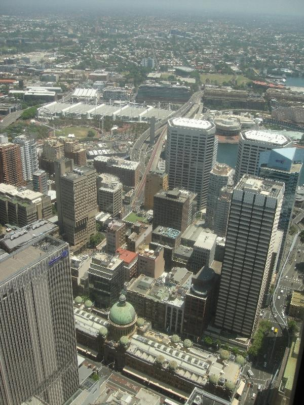 Looking out over Sydney, Australia